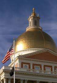 State house dome closeup