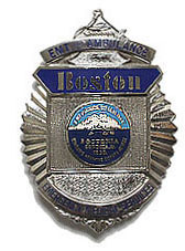 Boston pd badge