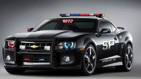 Modern Cop Camaro #2